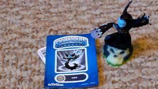 getlinkyoutube.com-Skylanders Giveaway Contest Number 2 - Hex New w/Sticker, Web Code, & Card
