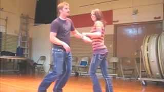 getlinkyoutube.com-Country Dancing - Swing, Aerials, Flips, Waterfall, Candlestick, Dips, Slides, Butt Spin.