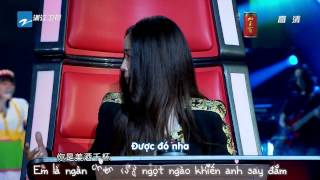 getlinkyoutube.com-♥[Vietsub] The Voice of China Ep 4: Vòng Giấu Mặt♥