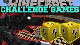 getlinkyoutube.com-Minecraft: MOBZILLA CHALLENGE GAMES - Lucky Block Mod - Modded Mini-Game