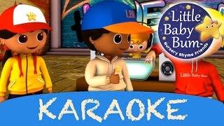 getlinkyoutube.com-karaoke: Head Shoulders Knees & Toes | Instrumental Version With Lyrics from LittleBabyBum!