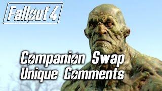 getlinkyoutube.com-Fallout 4 - Companion Swap Unique Comments (Strong)