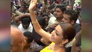 getlinkyoutube.com-Kajal Agarwal Troubled by Uncontrollable Crowd in Chennai Shopping Mall