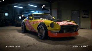 getlinkyoutube.com-Need For Speed 2015 - Nissan Fairlady 240ZG 1971 - Customize Car | Tuning (XboxONE HD) [1080p]