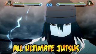 getlinkyoutube.com-Naruto Shippuden Ultimate Ninja Storm 4 : All Ultimate Jutsus!