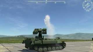 getlinkyoutube.com-DCS: Combined Arms Test #3 (DCS World 1.5.1)