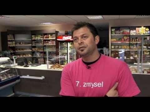 7. zmysel - Ňusi Bárta nakupuje v potravinách len pomocou posunkovej reči