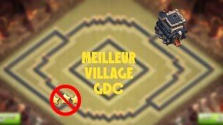 Meilleur village GDC Anti 3 Etoiles HDV 9 - Clash Of Clans