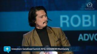 Social Good Summit 2016: Robin Padilla tells millennials to 'fight the good cause'