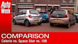 getlinkyoutube.com-Suzuki Celerio vs Mitsubishi Space Star vs Peugeot 108 - English subtitled
