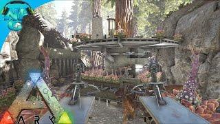 getlinkyoutube.com-Raiding the Tree Platform Base in the Redwoods! ARK Survival Evolved - PvP Season E32
