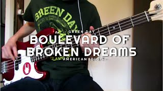 getlinkyoutube.com-Green Day - Boulevard Of Broken Dreams - Bass Cover