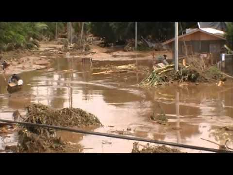 Typhoon Sendong Hits Iligan City
