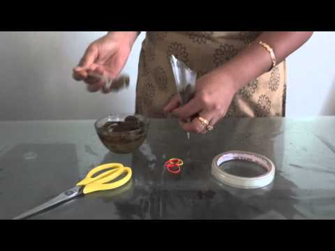 Learning Henna / Mehandi : How to Make Henna Cone : Easy Steps