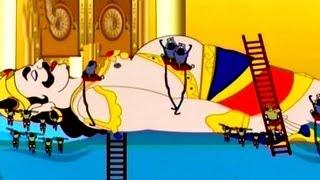 getlinkyoutube.com-Kumbhakarna : The Sleeping Demon - Hindi Animated Story Part 1