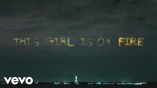 Alcia Keys - Girl On Fire (inferno Version) (Lyric Video)