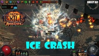 getlinkyoutube.com-Path of Exile - ICE CRASH อาวุธสองมือสุดแกร่ง (Ground slam)