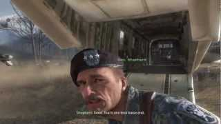 COD MW2 Ghost and Roach Death Scene