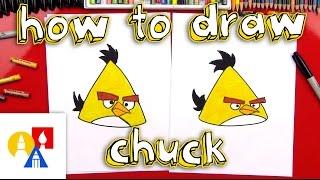 getlinkyoutube.com-How To Draw Chuck From Angry Birds