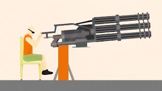 getlinkyoutube.com-WORLD'S BIGGEST GUN EVER! (Happy Wheels)