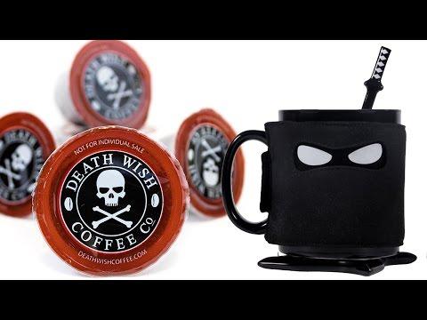 The Ninja Mug & Death Wish Coffee
