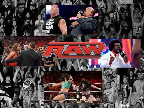 WWE RAW Review 7/21/14: Excellent Show! Lesnar Returns, Paige Turns Heel, & New Nation 2.0!