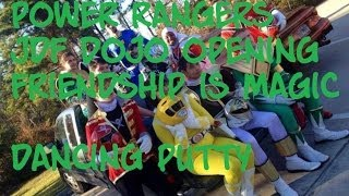 Power Rangers. Rising Sun Karate. JDF. SNOW DAY. Dancing Putty