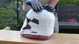 getlinkyoutube.com-the force awakens, making star wars EP7, Part4, first order helmet  Stormtrooper, 66target