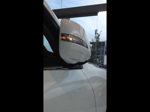Lexus LX570 Auto Folding mirror.