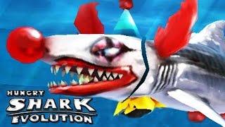 getlinkyoutube.com-Hungry Shark Evolution - New Shark - Clown Baby