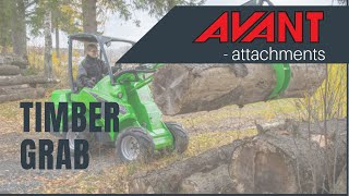 Timber Grab, Avant 300-700 Series attachment