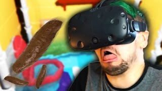 getlinkyoutube.com-SWIMMING IN POOP | Pipejob (HTC Vive Virtual Reality)