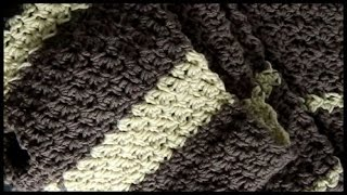 getlinkyoutube.com-Crochet Seed Stitch Scarf (and Stitch Pattern)