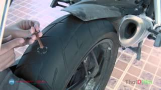 getlinkyoutube.com-วิธีปะยาง Big Bike (Tubeless)