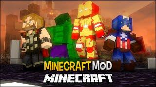 getlinkyoutube.com-Minecraft Mod: Os Vingadores !! (Hulk,Homem de Ferro,Thor) - The Marvel Craft Mod