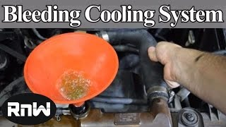 getlinkyoutube.com-How to Bleed Air Out of Your Car's Cooling System - DIY Method