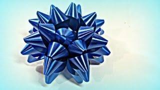 getlinkyoutube.com-Tutorial. Como hacer lazos o moños para regalo.