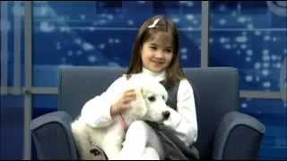 getlinkyoutube.com-Kaitlyn Maher ( 8yo ) interview in CBS 3 Philadelphia november 27, 2012