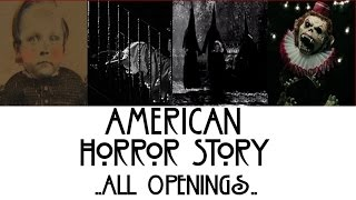 getlinkyoutube.com-American Horror Story - All Openings
