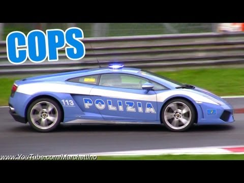 Italy introduces Lamborghini Police Cruiser