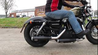 getlinkyoutube.com-Auspuff Sounds: Harley-Davidson