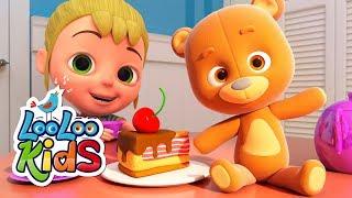 Teddy Bear - Educational Songs for Children | LooLoo Kids width=