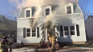 getlinkyoutube.com-Babylon, L.I.N.Y. Working House Fire, January 10, 2015