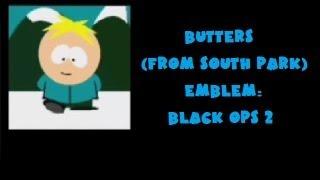 getlinkyoutube.com-(Best) How to Make a Butters Emblem - Black Ops 2