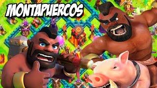 getlinkyoutube.com-Montapuercos nivel 2 | Clash of clans