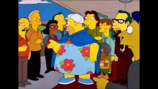 getlinkyoutube.com-The Simpsons - Fat Homer at Movie Theater