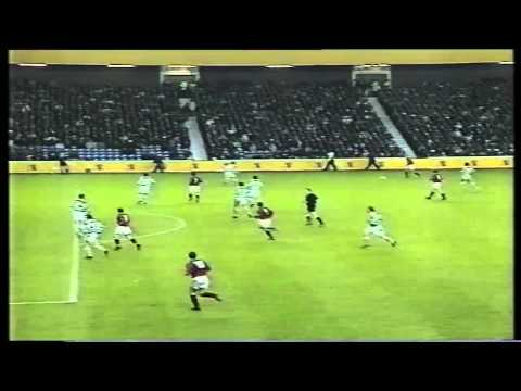 Falkirk FC Paul McGrillen Goal 1996-97 Scottish Cup Semi-Final Replay.