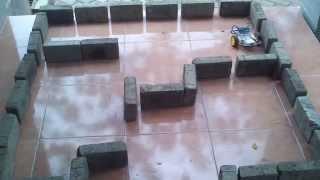 Poltekom robot labirin big labyrinth
