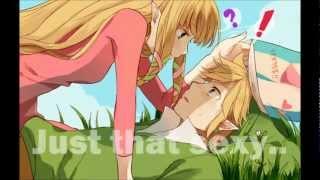 getlinkyoutube.com-Link x Zelda Cartoon (Toon Link and Toon Zelda) (Zelda Skyward Sword) Just That Sexy