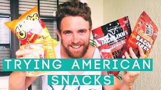 getlinkyoutube.com-Trying American Snacks!   Matthew Taylor